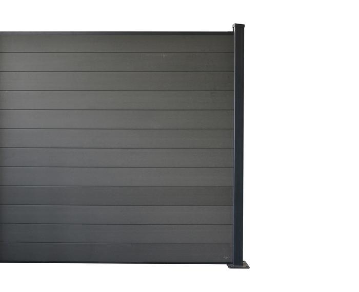 Black Kingfisher Privacy Fence Panel Kit