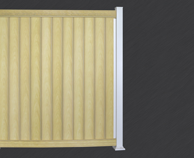 Brown Lines Fence Panel Kit